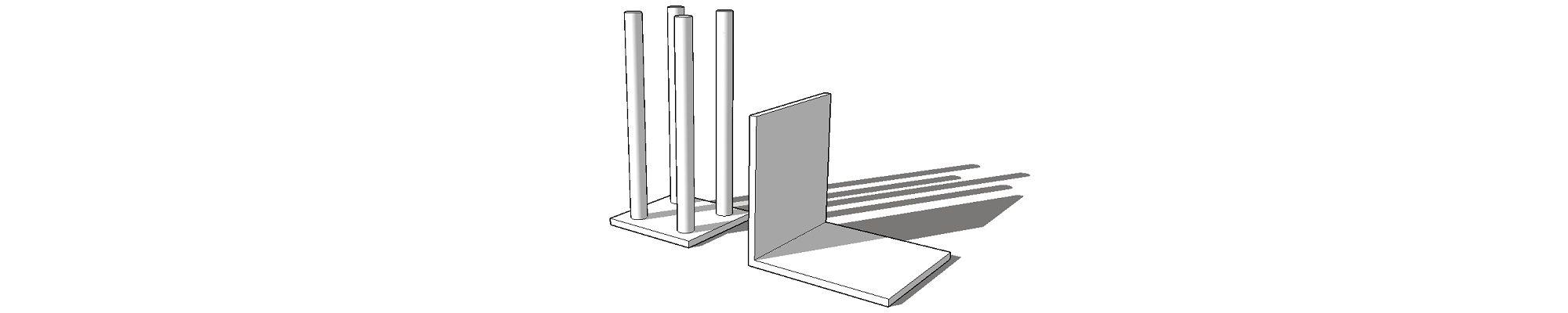 Металлические закладные и элементы каркаса