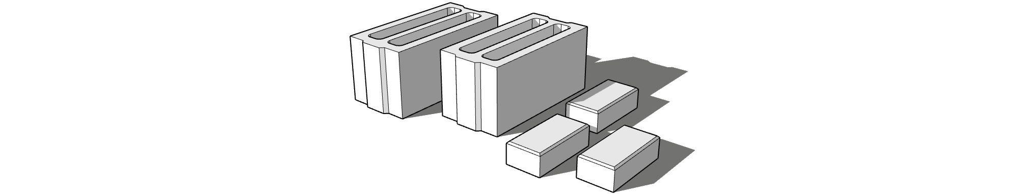 Стеновые камни СКЦ и тротуарная плитка